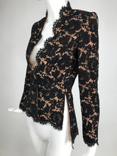 Stella McCartney Black Lace Jacket with Nude Lining Unworn with Tags 38