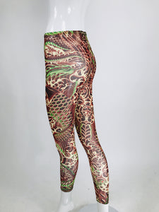 Jean Paul Gaultier for Target Tattoo Leggings Unworn Medium