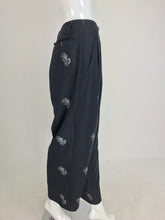 Vintage John Paul Gaultier High Waist Trouser Full Leg 1980s
