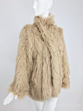 SOLD Arissa France Bone Faux Fur Jacket and Scarf 1980s