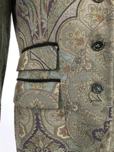 Vintage Etro Paisley Wool Riding Jacket 1990s