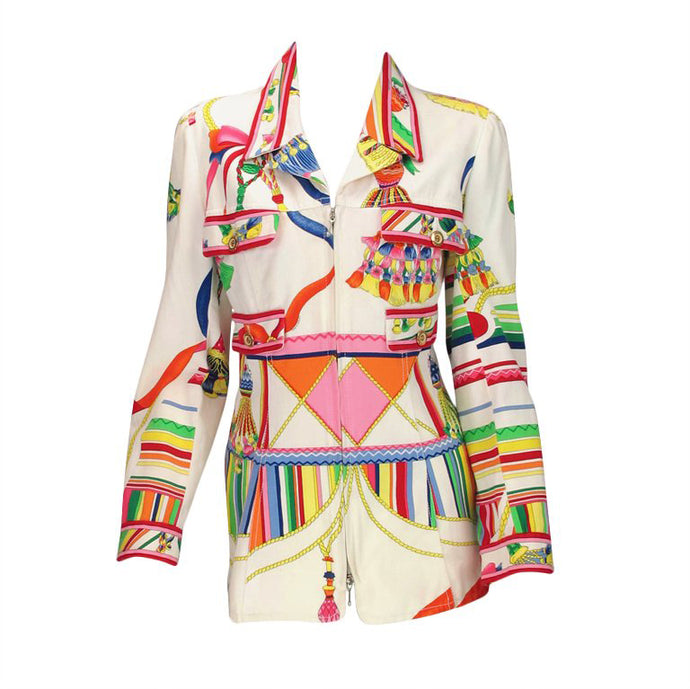 Leonard Paris bright summer 1970s jacket