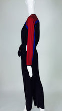 Bill Tice Color Block Sporty Jumpsuit 1980s