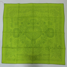 SOLD Hermes silk twill scarf Decoupages Anne Rosat unused