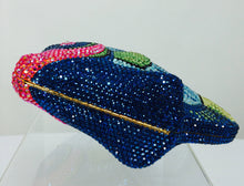 SOLD Kathrine Baumann Beverly Hills Crystal Jeweled angel fish minaudière