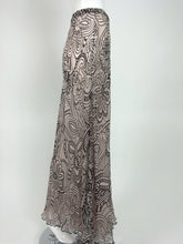 SOLD Missoni black & white floral silk chiffon palazzo pant