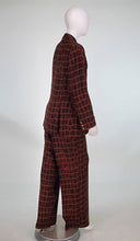 Todd Oldham Silk Animal Print Trouser Set 1990s