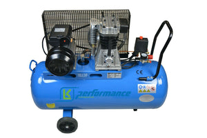 New High Performance 100L Litre Compressor (Single Phase)