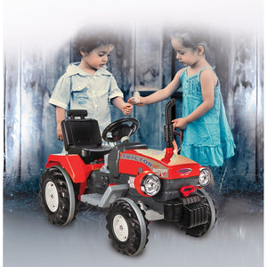 Ride-on Tractor Power Drag red 12V