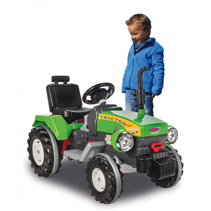Ride-on Tractor Power Drag green 12V