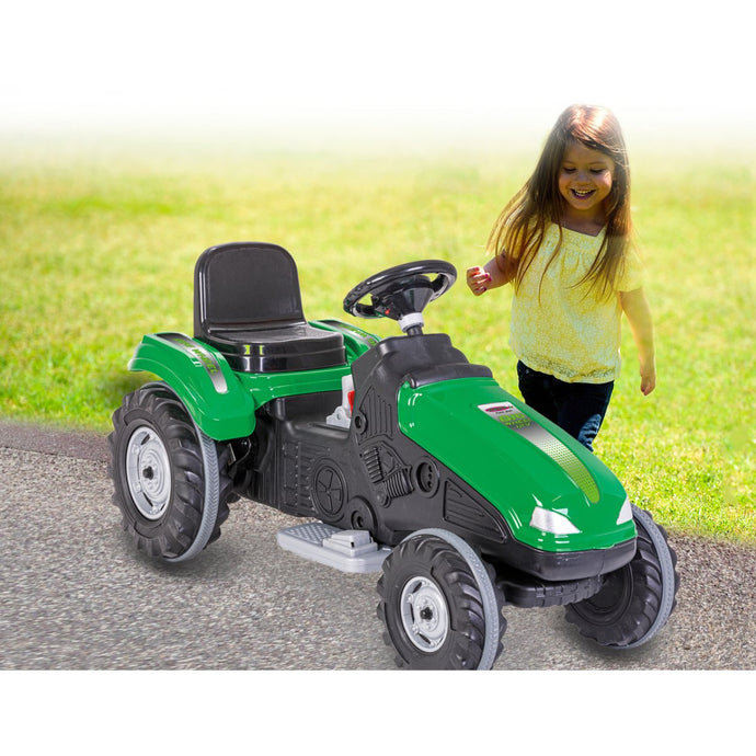 Ride-on Tractor Big Wheel 12V green