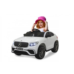 Ride-on Merecedes-Benz AMG GLC 63 S Coupe white