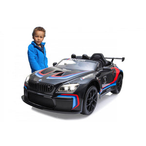 Ride-on BMW M6 GT3 black