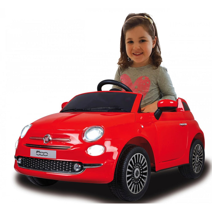 Ride-on Fiat 500 red 12V