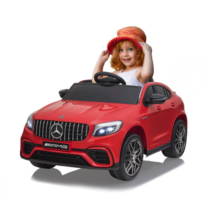 Ride-on Merecedes-Benz AMG GLC 63 S Coupe red
