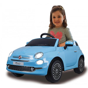 Ride-on Fiat 500 blue 12V