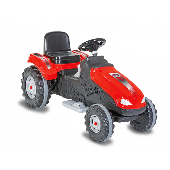 Ride-on Tractor Big Wheel 12V red