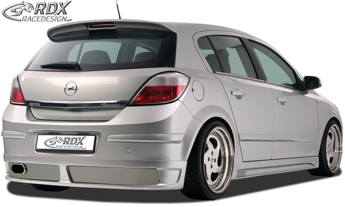LK Performance RDX rear bumper extension OPEL Astra H 4/5 doors - LK Auto Factors