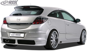 LK Performance RDX rear bumper extension OPEL Astra H GTC - LK Auto Factors