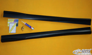 "LK Performance RDX Sideskirts OPEL Astra H GTC ""Turbo"" - LK Auto Factors"