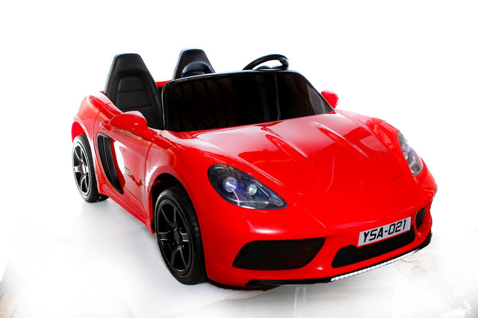 24V 2 Seater Supercar Ride On Car Red