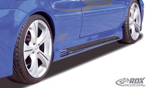 "LK Performance side skirts VW Golf 4 Cabrio ""GT-Race"" - LK Auto Factors"