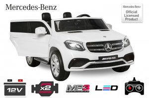12V License Mercedes AMG GLS63 Children electric car for 2 children child car 4x 35W 2x 7 Ah (24V) 2.4G RC - LK Auto Factors