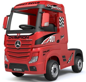 Licensed Mercedes-Benz Actros 4WD 24V* Ride On Lorry With Leather Seat
