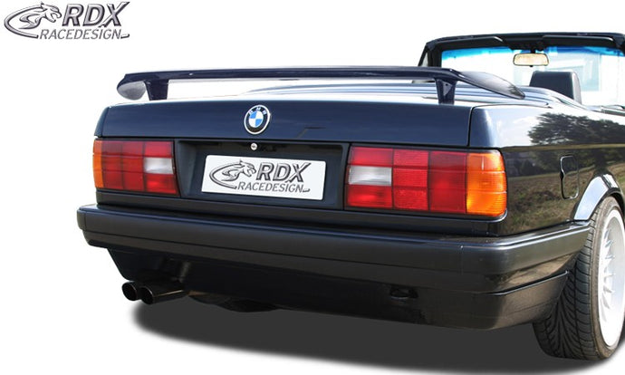 LK Performance RDX rear spoiler BMW 3-series E30 - LK Auto Factors