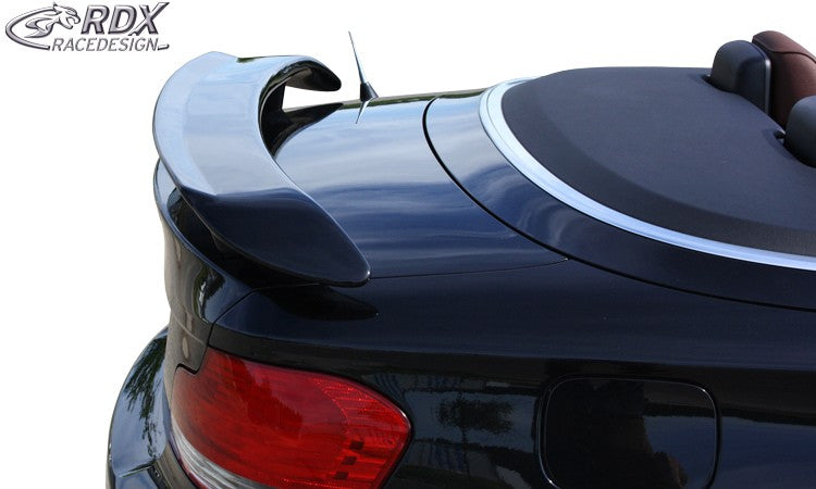 LK Performance RDX rear spoiler BMW 1-series E82 / E88 - LK Auto Factors