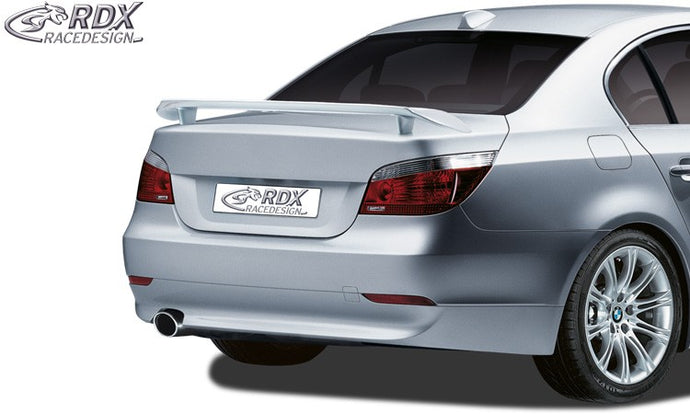 LK Performance RDX rear spoiler BMW 5-series E60 - LK Auto Factors