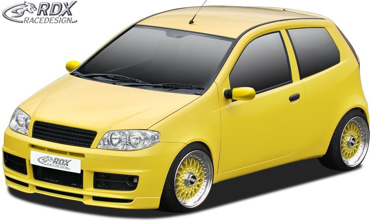 LK Performance RDX Front Spoiler FIAT Punto 2 Facelift Sporting - LK Auto Factors