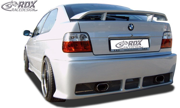 "LK Performance RDX Rear bumper BMW 3-series E36 Compact ""GT4"" - LK Auto Factors"