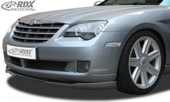 LK Performance front spoiler VARIO-X CHRYSLER Crossfire front lip Front attachment Front spoiler lip - LK Auto Factors