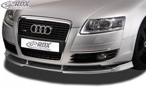LK Performance front spoiler VARIO-X AUDI A6 4F -2008 front lip front attachment - LK Auto Factors