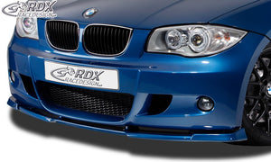 LK Performance RDX Front Spoiler VARIO-X BMW 1series E81 / E87 (M-package and M-Technic Frontbumper) Front Lip Splitter - LK Auto Factors