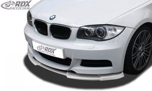LK Performance RDX Front Spoiler VARIO-X BMW 1-series E82 / E88 (M-Paket and M-Technik Frontbumper) Front Lip Splitter - LK Auto Factors