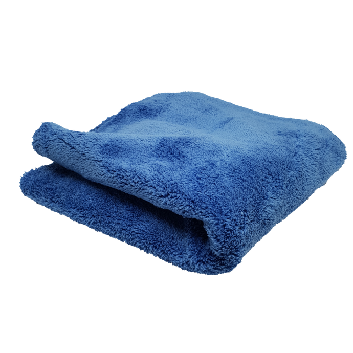 600gsm Plush Microfibre Edgeless Korean Cloth BLUE Ultra Plush - LK Auto Factors
