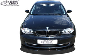 LK Performance RDX Front Spoiler VARIO-X BMW 1-series E81 / E87 2007+ Front Lip Splitter - LK Auto Factors