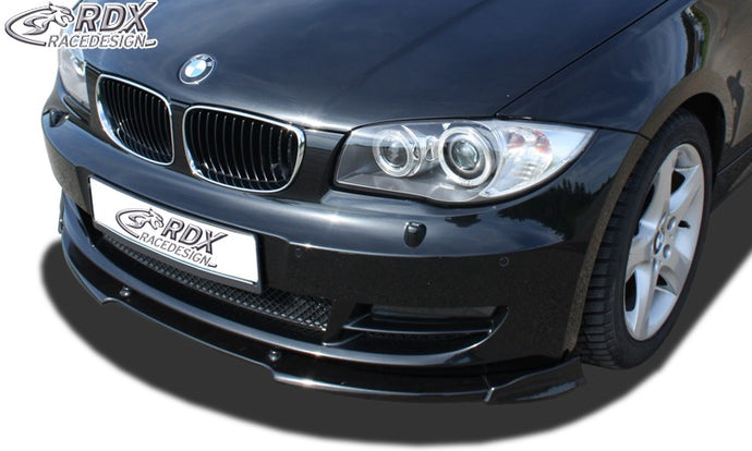 LK Performance RDX Front Spoiler VARIO-X BMW 1-series E82 / E88 Front Lip Splitter - LK Auto Factors