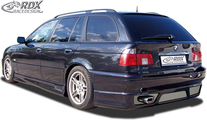 LK Performance RDX rear bumper extension BMW 5-series E39 touring