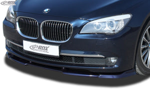 LK Performance RDX Front Spoiler VARIO-X BMW 7-series F01 / F02 (-2012) Front Lip Splitter - LK Auto Factors