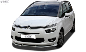 LK Performance RDX Front Spoiler VARIO-X CITROEN C4 Grand Picasso 2013+ Front Lip Splitter - LK Auto Factors