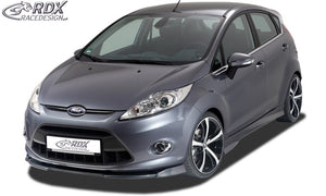 LK Performance RDX Front Spoiler VARIO-X FORD Fiesta MK7 JA8 JR8 (2008-2012) Front Lip Splitter - LK Auto Factors