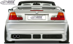 LK Performance RDX Rear bumper BMW 3-series E46 - LK Auto Factors