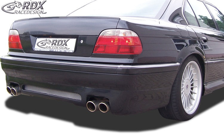 LK Performance RDX rear bumper extension BMW 7-series E38 - LK Auto Factors