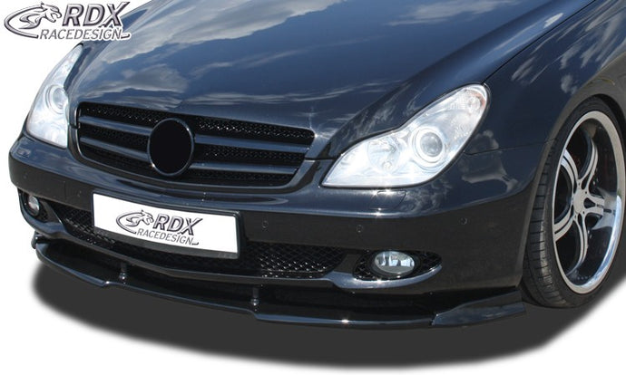LK Performance RDX Front Spoiler VARIO-X MERCEDES CLS-class C219 2008+ Front Lip Splitter - LK Auto Factors