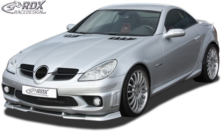 LK Performance RDX Front Spoiler VARIO-X MERCEDES SLK R171 AMG -2008 (Fit for AMG and Cars with AMG Frontbumper) Front Lip Splitter - LK Auto Factors