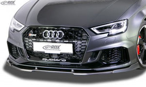 LK Performance front spoiler VARIO-X AUDI RS3 8V 2017+ front lip front attachment front spoiler lip - LK Auto Factors
