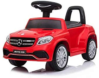 HL600 RED Benz GLS63 Licensed Kids Electric Foot to Floor Ride on Car - LK Auto Factors